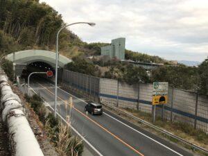 天王山トンネル