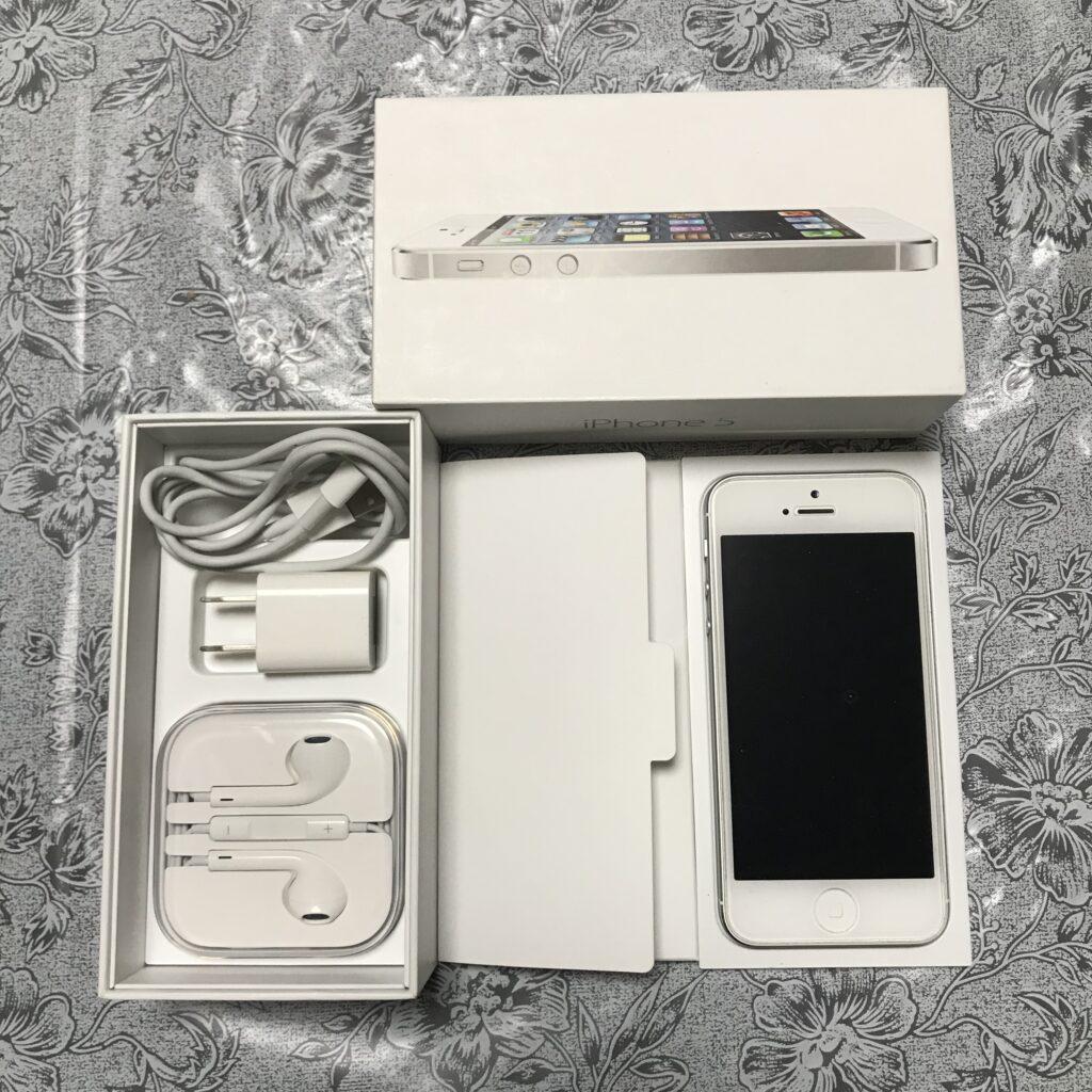 中古iPhone5