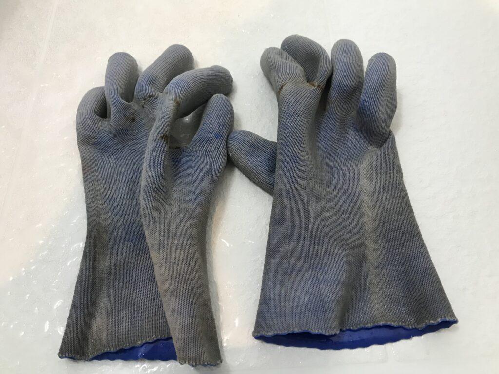 作業用手袋洗濯