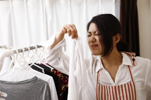 洗濯物の臭い雑菌で多い