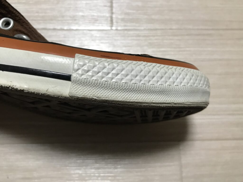 ウタマロ洗った後の靴