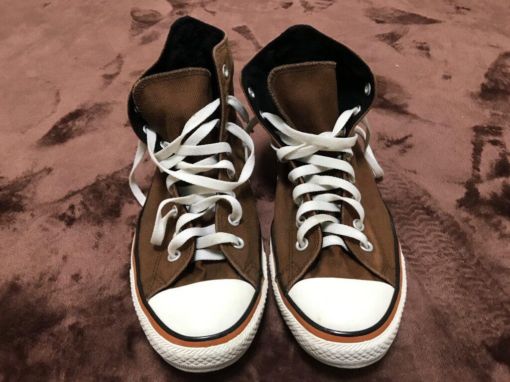 靴ウタマロで洗った後