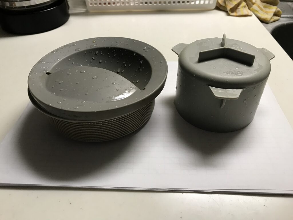 台所の排水トラップ