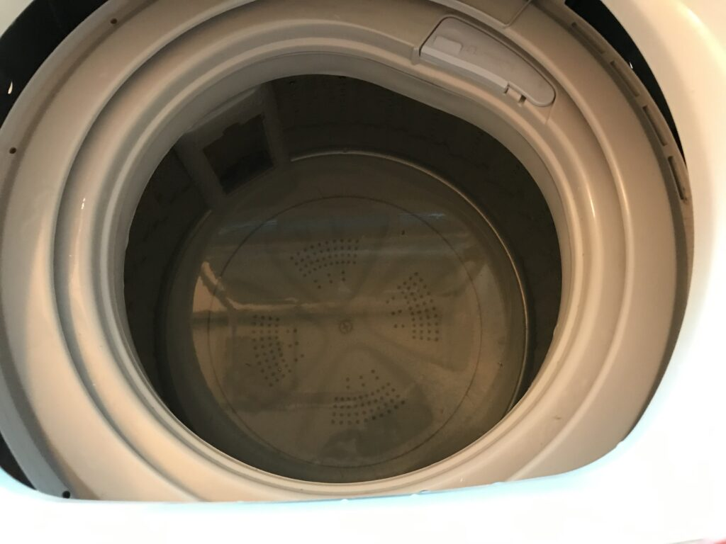 洗濯機の掃除オキシクリーンでつけおく